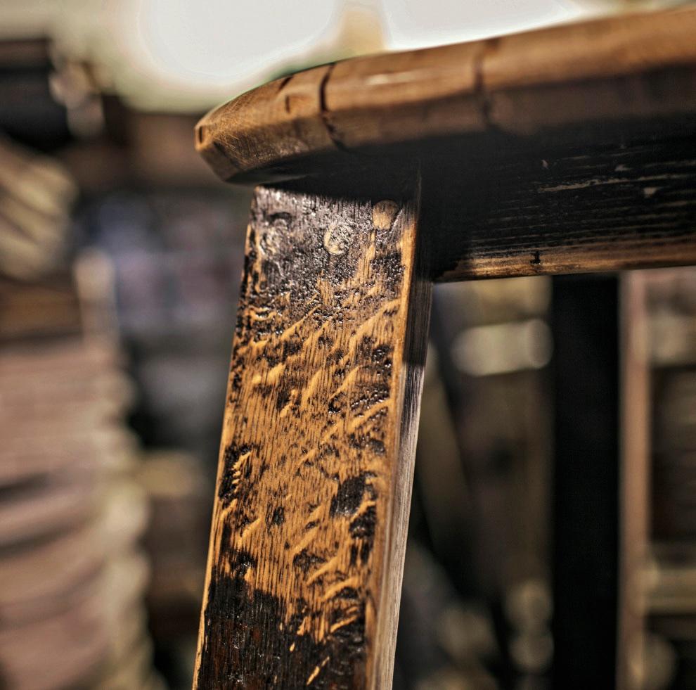 Portfolio : Bourbon Barrel Furniture - Bourbon Barrel Artisan