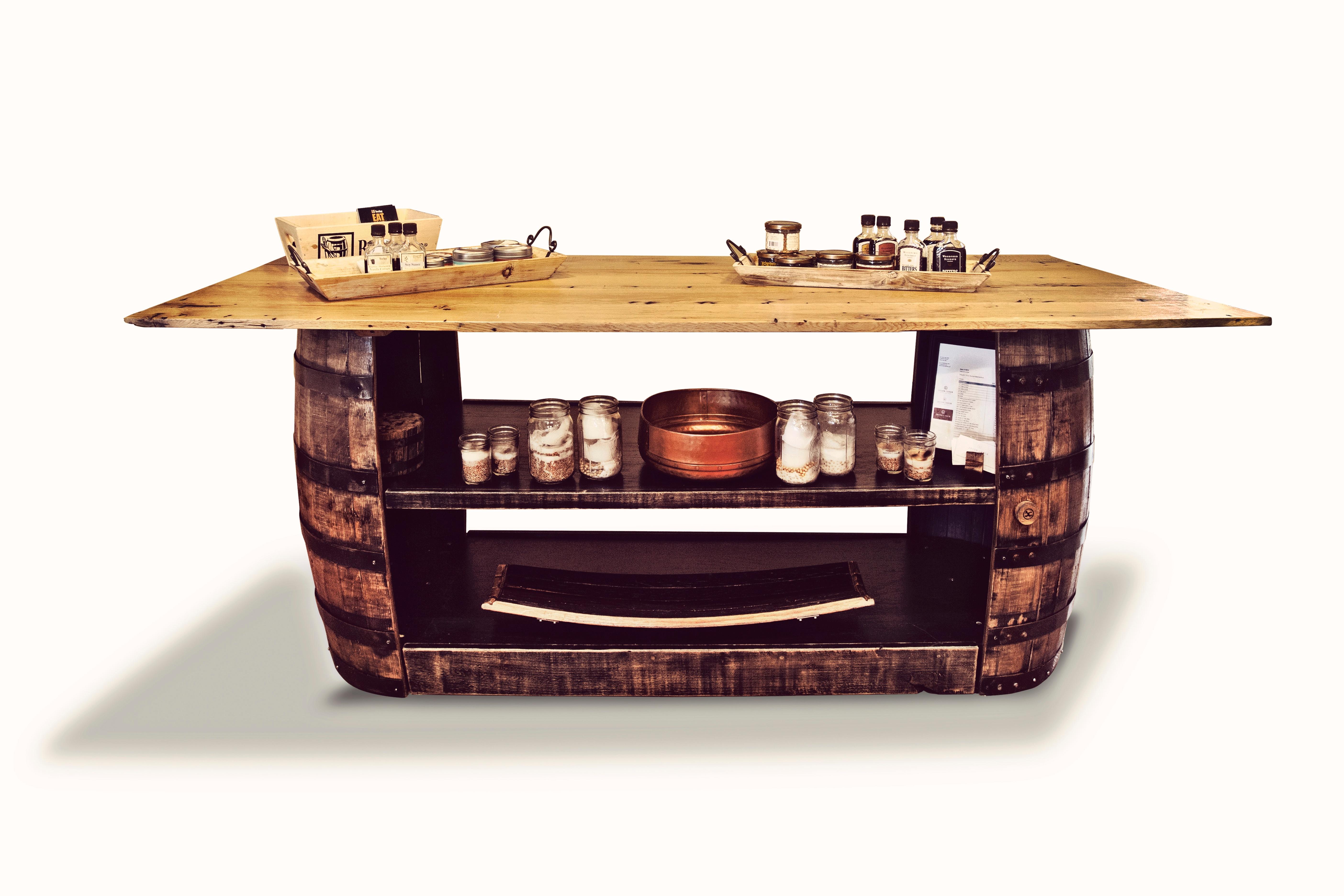 Gentil Bourbon Barrel Furniture